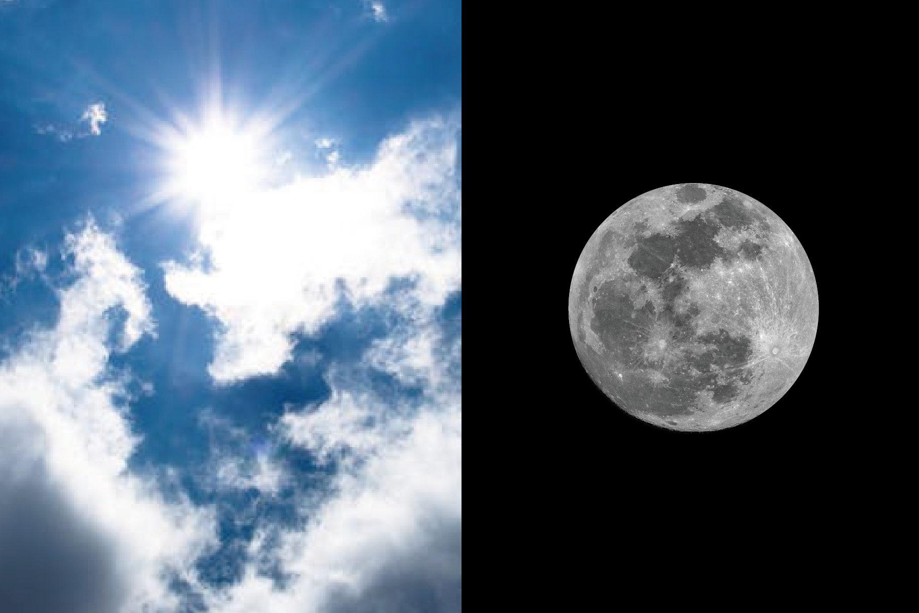 日光浴月光浴